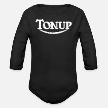 Ton-up Ton Up - Organic Long-Sleeved Baby Bodysuit