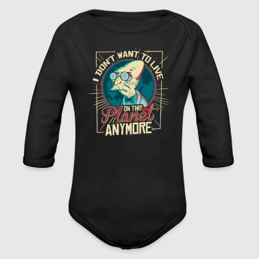 ON THIS PLANE - Organic Long Sleeve Baby Bodysuit