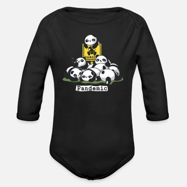 Pandemic PANDEMIC - Organic Long-Sleeved Baby Bodysuit