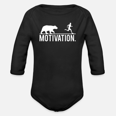 Motivation Motivation - Organic Long-Sleeved Baby Bodysuit