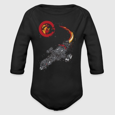 A LEAF ON THE WIND - Organic Long Sleeve Baby Bodysuit