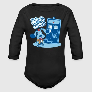 Whos Clues - Organic Long Sleeve Baby Bodysuit