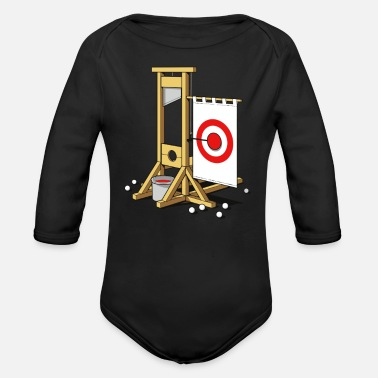 Medieval Medieval Fairground - Organic Long-Sleeved Baby Bodysuit