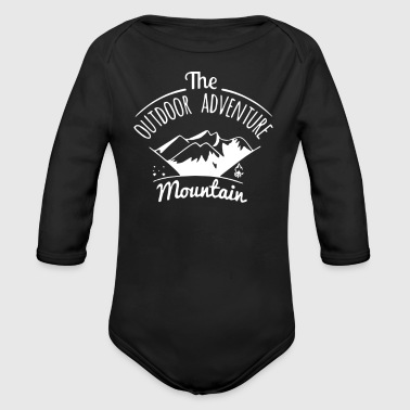 The Outdoor Adventure - Organic Long Sleeve Baby Bodysuit