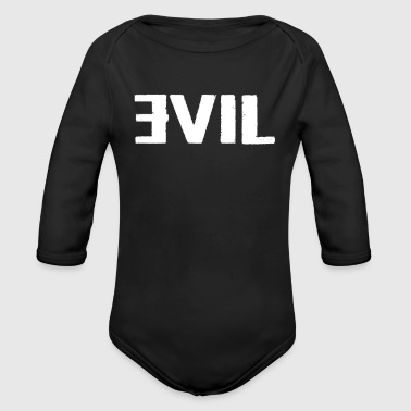 EVIL - Organic Long Sleeve Baby Bodysuit