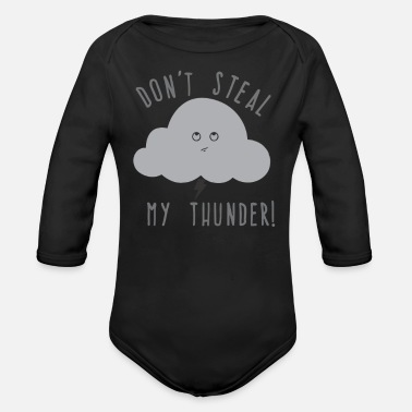 Request A Cloudy Request - Organic Long-Sleeved Baby Bodysuit