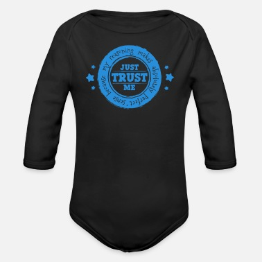 Circular Circular Reasoning - Organic Long-Sleeved Baby Bodysuit