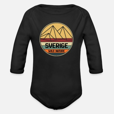 Sweden Sweden sweden - Organic Long-Sleeved Baby Bodysuit
