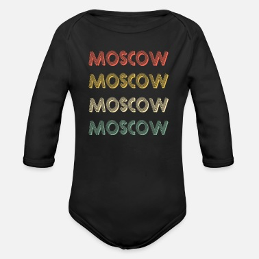 Moscow Moscow - Organic Long-Sleeved Baby Bodysuit