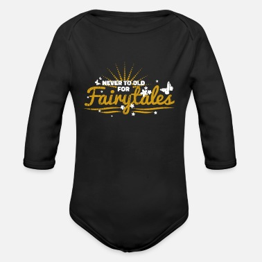 Fairytale Fairytales - Organic Long-Sleeved Baby Bodysuit