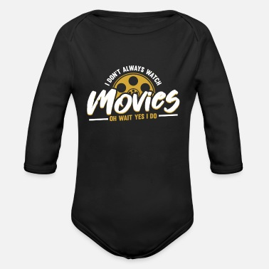 Movie Movie - Organic Long-Sleeved Baby Bodysuit