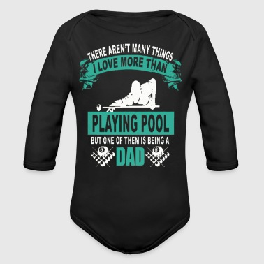 Coat Billiard T-shirts - Long Sleeve Baby Bodysuit