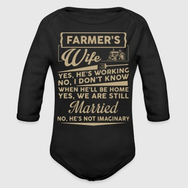 Farmer Wife Shirt - Long Sleeve Baby Bodysuit