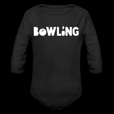 Bowling - Sport - Pin - Strike - Split - Gift - Long Sleeve Baby Bodysuit