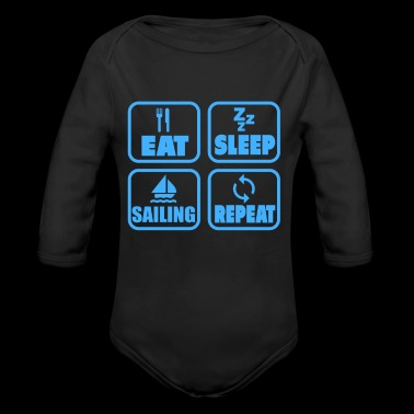 sailing sport love boat energy wind sea gift - Long Sleeve Baby Bodysuit