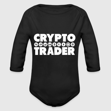 Crypto Trader - Long Sleeve Baby Bodysuit