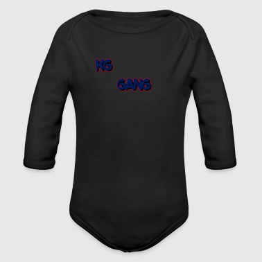 my gang - Long Sleeve Baby Bodysuit