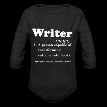 Writer Shirt - Long Sleeve Baby Bodysuit