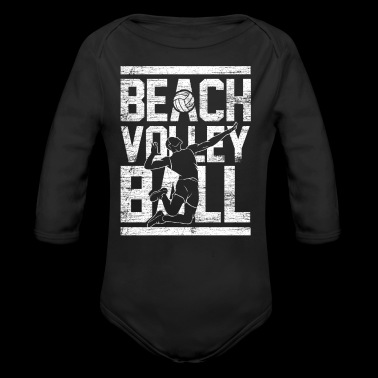 Beach Volleyball gift team sport love play - Long Sleeve Baby Bodysuit
