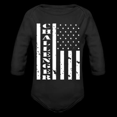 CHALLENGER FLAG 3D - Long Sleeve Baby Bodysuit