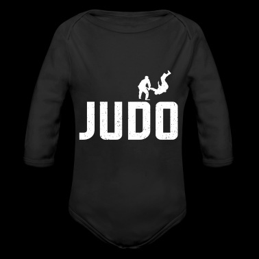 Judo - grappling sport - animation - gift - Long Sleeve Baby Bodysuit