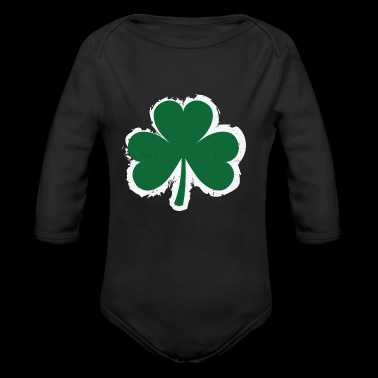 Clover Leaf - Long Sleeve Baby Bodysuit