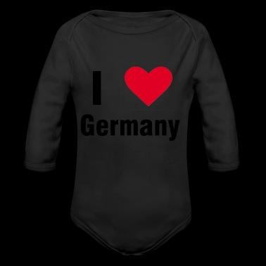I love Germany shirt gift idea - Long Sleeve Baby Bodysuit