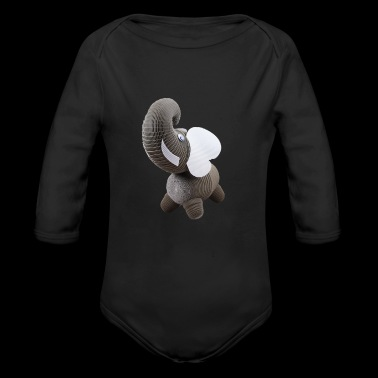 Crazy Paper Craft - Elephant - Long Sleeve Baby Bodysuit
