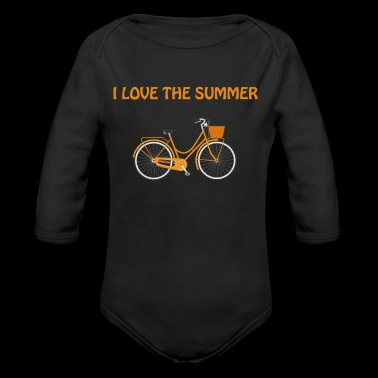summer - Long Sleeve Baby Bodysuit