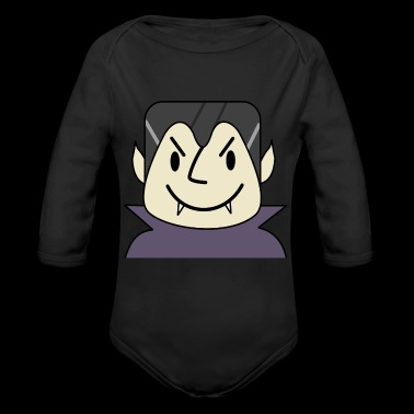 Vampireguy - Long Sleeve Baby Bodysuit