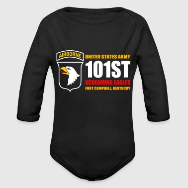 FORT CAMPBELL KENTUCKY - Organic Long Sleeve Baby Bodysuit
