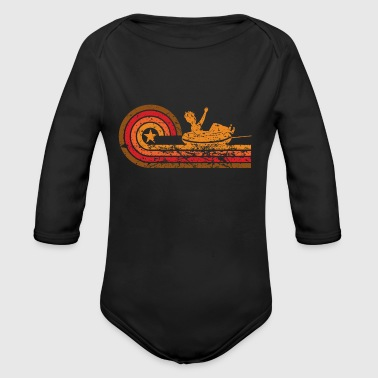 Retro Style Water Tubing Vintage - Long Sleeve Baby Bodysuit