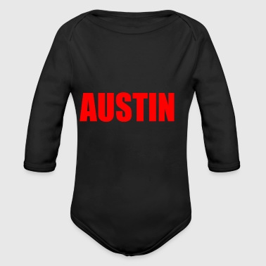 AUSTIN - Long Sleeve Baby Bodysuit