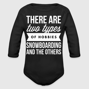 Snowboarding and the others - Long Sleeve Baby Bodysuit