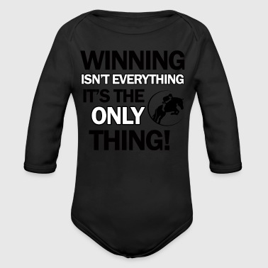 show jump design - Long Sleeve Baby Bodysuit