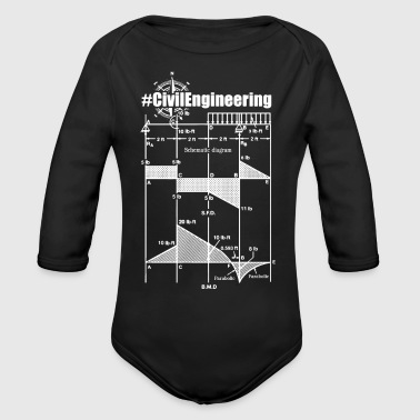Civil Engineering Shirts - Long Sleeve Baby Bodysuit