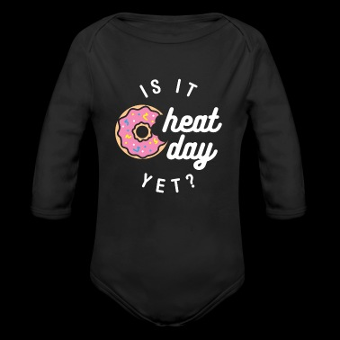 Is It Cheat Day Yet? (Donut) - Long Sleeve Baby Bodysuit