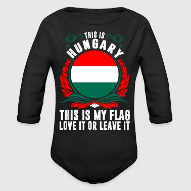 This Is Hungary - Organic Long Sleeve Baby Bodysuit