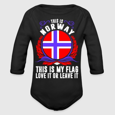 This Is Norway - Long Sleeve Baby Bodysuit
