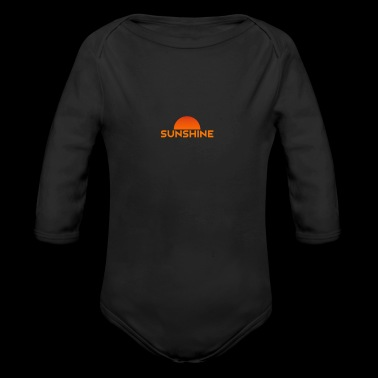 sunshine - Long Sleeve Baby Bodysuit