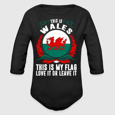 This Is Wales - Long Sleeve Baby Bodysuit