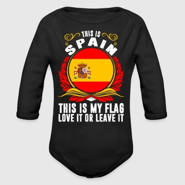 This Is Spain - Long Sleeve Baby Bodysuit