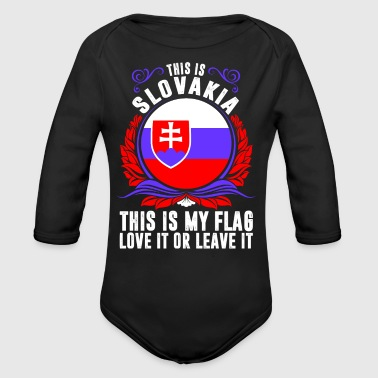 This Is Slovakia - Long Sleeve Baby Bodysuit