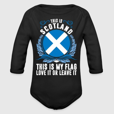 This Is Scotland - Organic Long Sleeve Baby Bodysuit