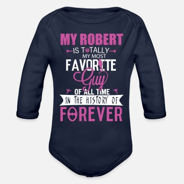 Robert ROBERT - Organic Long-Sleeved Baby Bodysuit