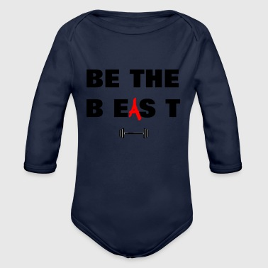 Be The Beast - Organic Long Sleeve Baby Bodysuit