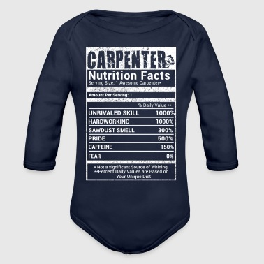Carpenter nutrition T-Shirts - Organic Long Sleeve Baby Bodysuit