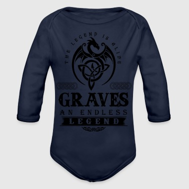 GRAVES - Organic Long Sleeve Baby Bodysuit