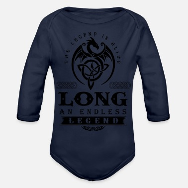Long Bow LONG - Organic Long-Sleeved Baby Bodysuit