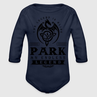 PARK - Organic Long Sleeve Baby Bodysuit